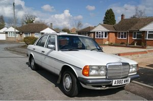 1983 mercedes 240 diesel For Sale