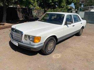 1985 Mercedes 500SEL Sedan = Euro-specs low 27k miles $12.9k For Sale