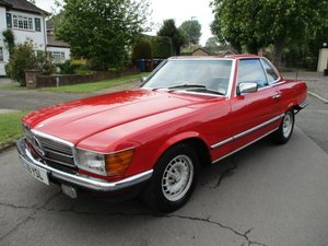 MERCEDES 280 SL 1985 C REG STUNNING MAINTAINED BY EXPERTS For Sale