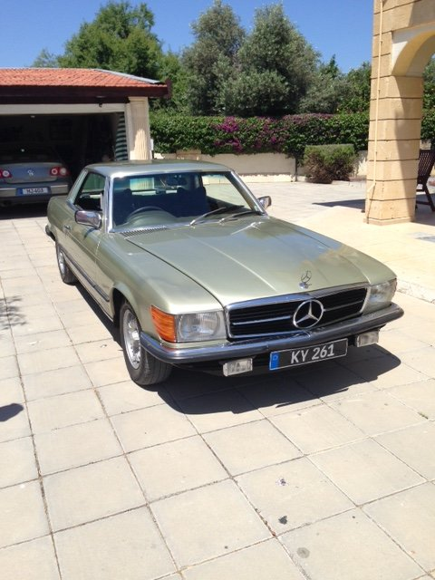 1979 Mercedes Benz 450SLC For Sale (picture 1 of 6)