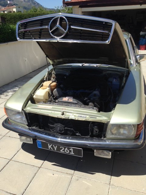 1979 Mercedes Benz 450SLC For Sale (picture 4 of 6)