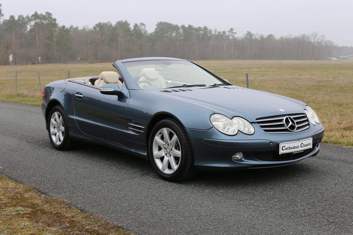 2003 A resplendent - First Generation - Mercedes-Benz SL 500 (R23 SOLD (picture 1 of 6)