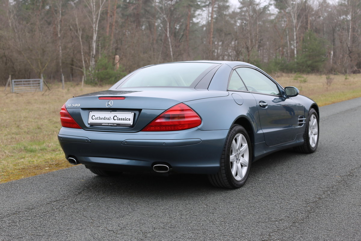2003 A resplendent - First Generation - Mercedes-Benz SL 500 (R23 SOLD (picture 5 of 6)