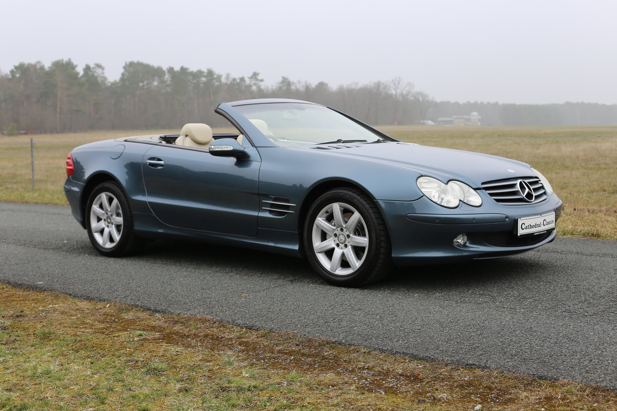 2003 A resplendent - First Generation - Mercedes-Benz SL 500 (R23 SOLD (picture 6 of 6)
