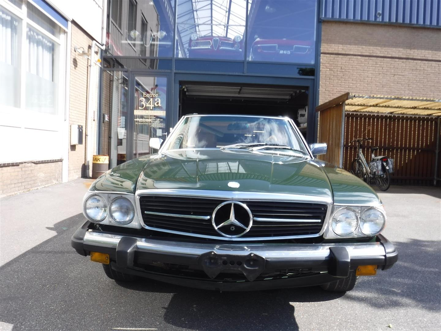1983 Mercedes Benz 380SL roadster '83 For Sale (picture 6 of 6)