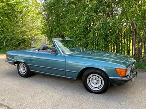 Mercedes 500 SL 1982 RHD 2 Former Owners For Sale