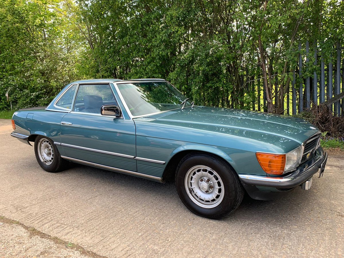 Mercedes 500 SL 1982 RHD 2 Former Owners For Sale (picture 2 of 6)
