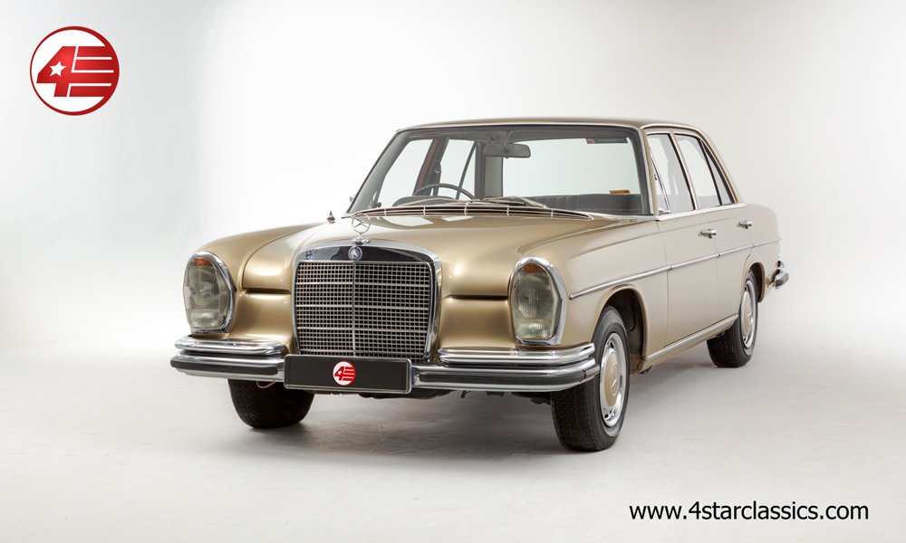 1972 Mercedes W108 280 SE /// 65k Miles For Sale (picture 1 of 6)