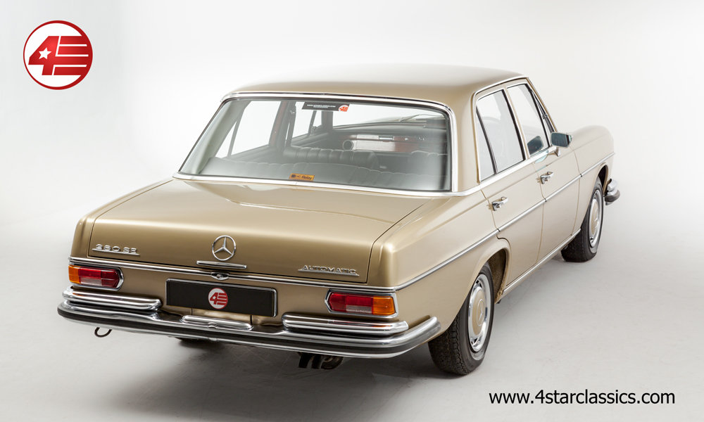 1972 Mercedes W108 280 SE /// 65k Miles For Sale (picture 3 of 6)