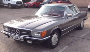 To be sold Wednesday 22nd May 2019- 1978 Mercedes 450 SLC