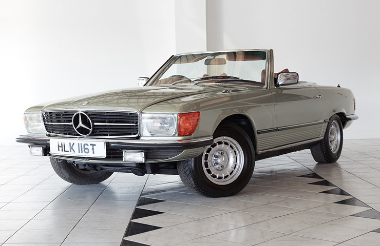 1979 MERCEDES 350SL 58113 Miles Stunning Car SOLD (picture 1 of 10)
