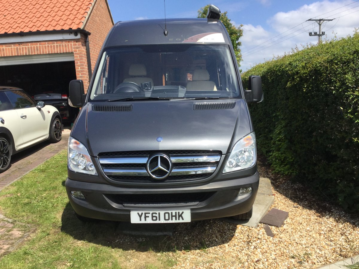 2012 Superb MERCEDES SPRINTER RS EQUINOX low mileage SOLD (picture 1 of 6)
