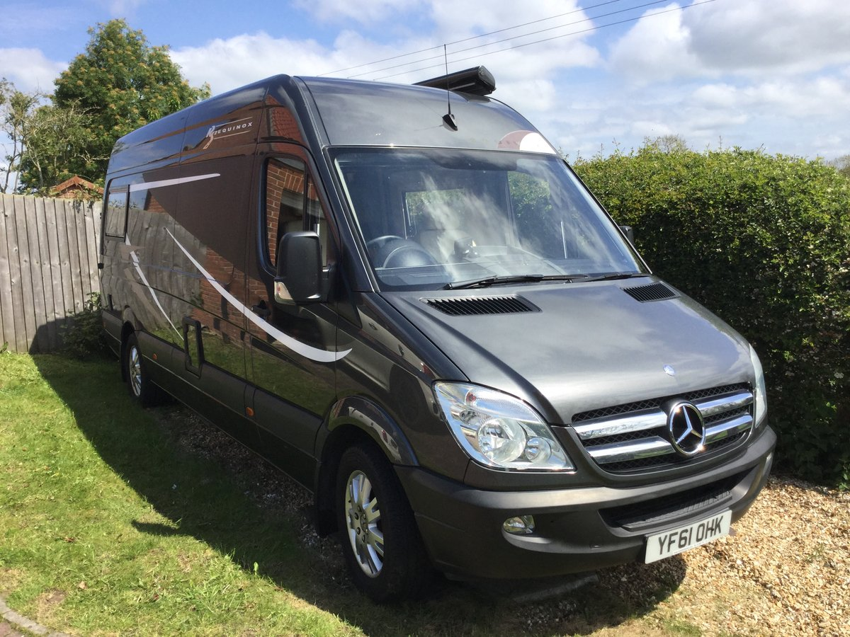 2012 Superb MERCEDES SPRINTER RS EQUINOX low mileage SOLD (picture 2 of 6)