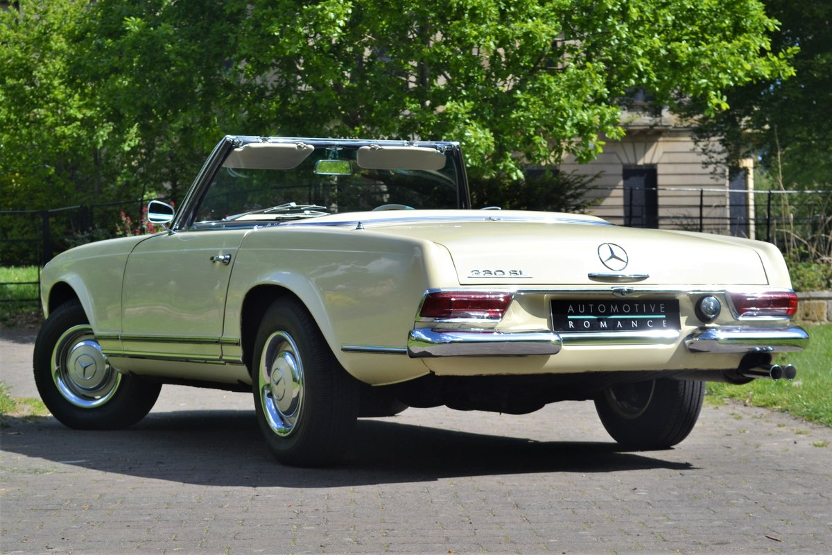1964 W113 Mercedes-Benz 230 SL Pagoda RHD Manual  For Sale (picture 2 of 6)