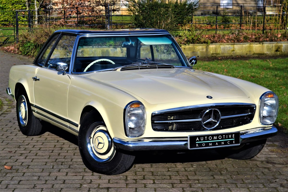 1964 W113 Mercedes-Benz 230 SL Pagoda RHD Manual  For Sale (picture 4 of 6)