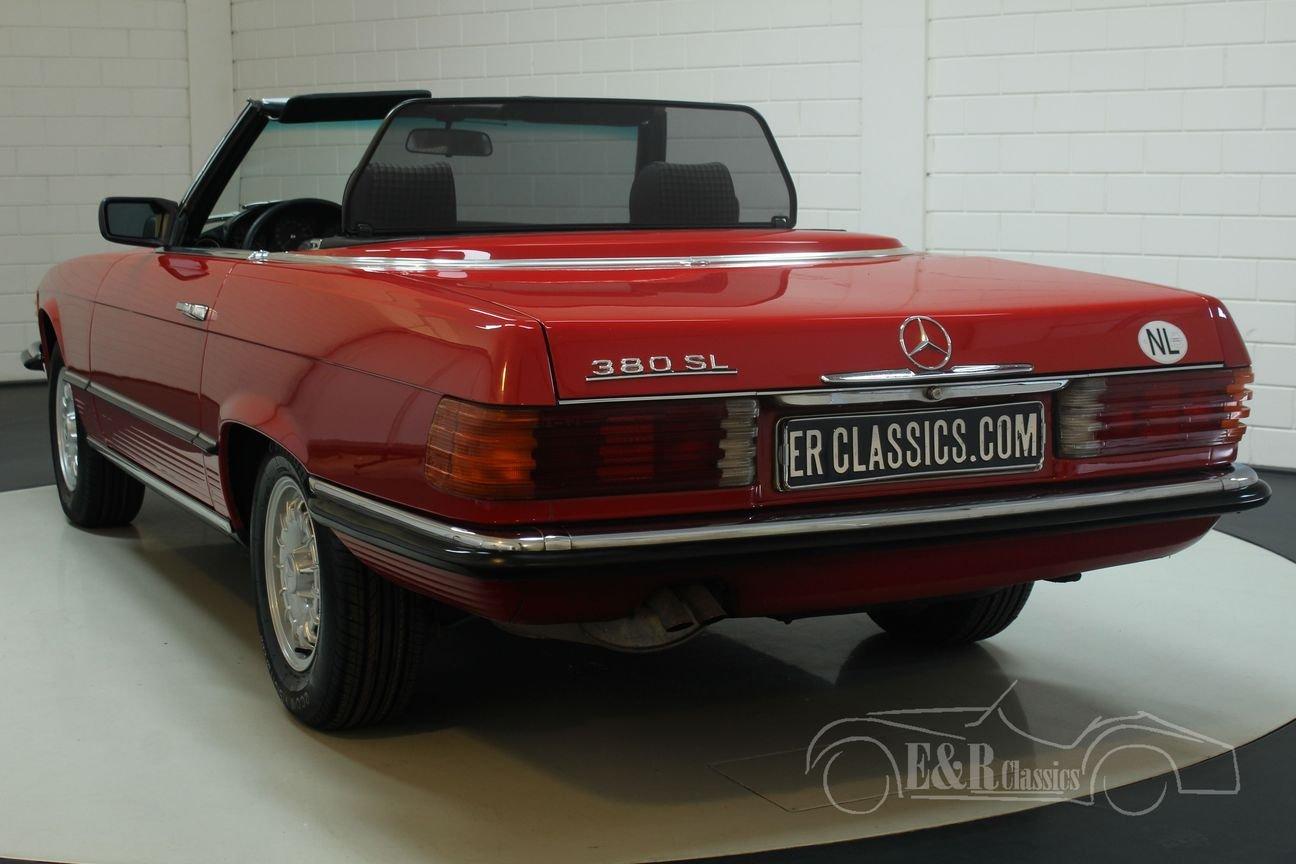 Mercedes Benz 380SL Cabriolet 1985 European car For Sale (picture 5 of 6)