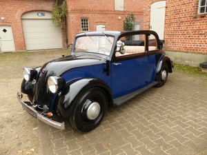 1934 very rare convertible saloon For Sale