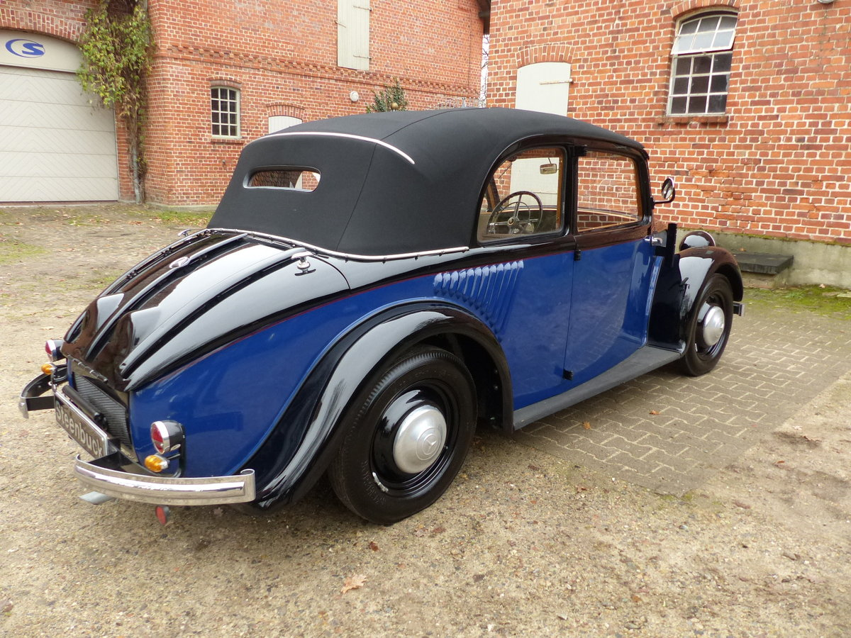 1934 very rare convertible saloon For Sale (picture 2 of 6)