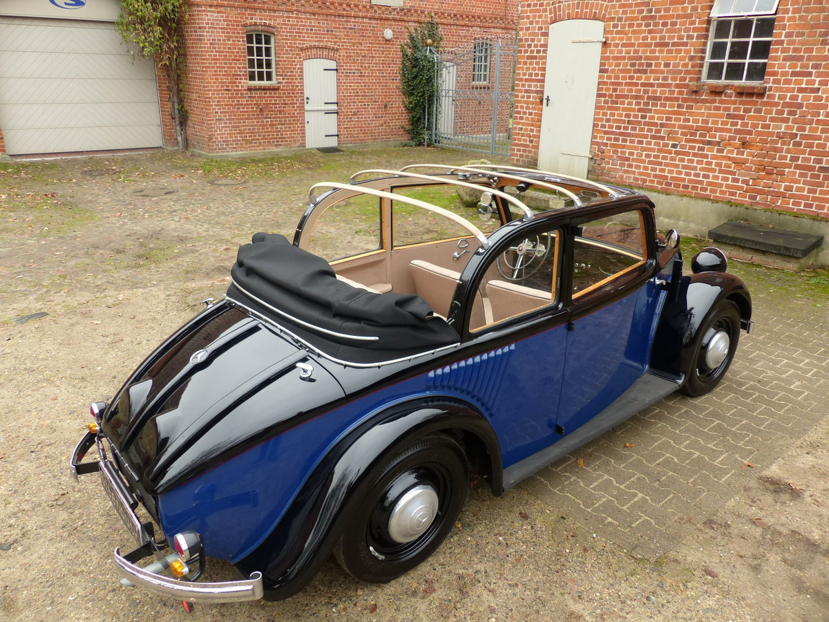 1934 very rare convertible saloon For Sale (picture 3 of 6)