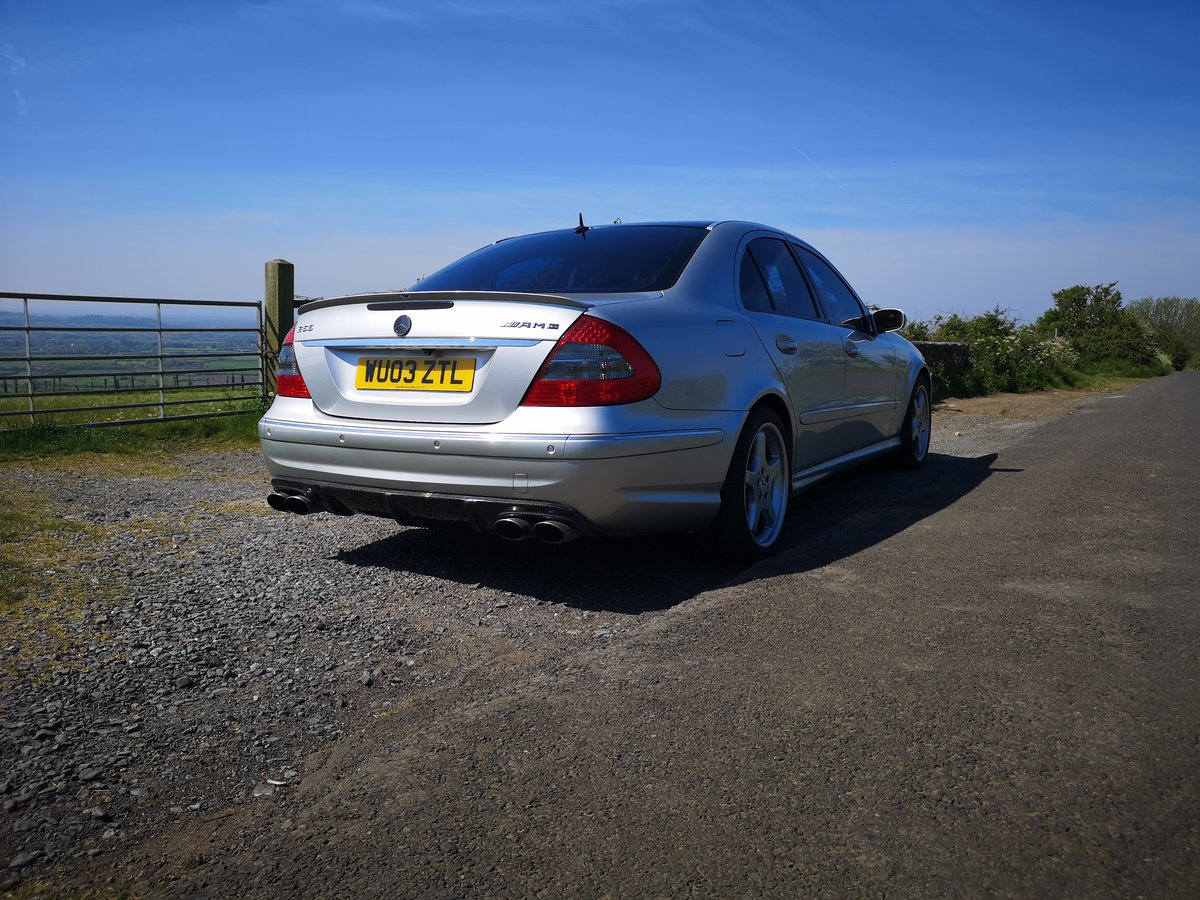 2003 Mercedes E55 supercharged Modified stage 2 tuned For Sale (picture 1 of 6)