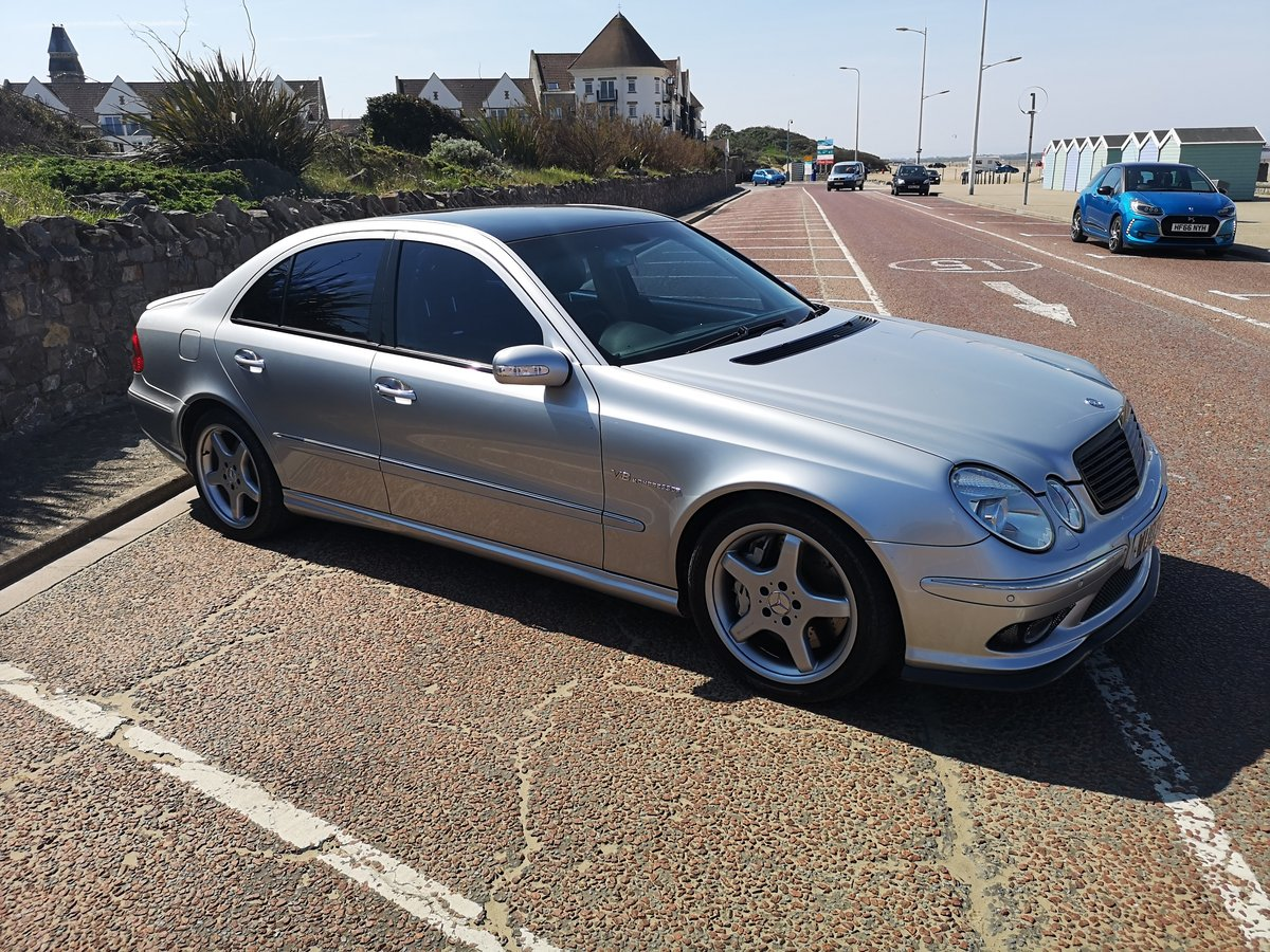 2003 Mercedes E55 supercharged Modified stage 2 tuned For Sale (picture 3 of 6)