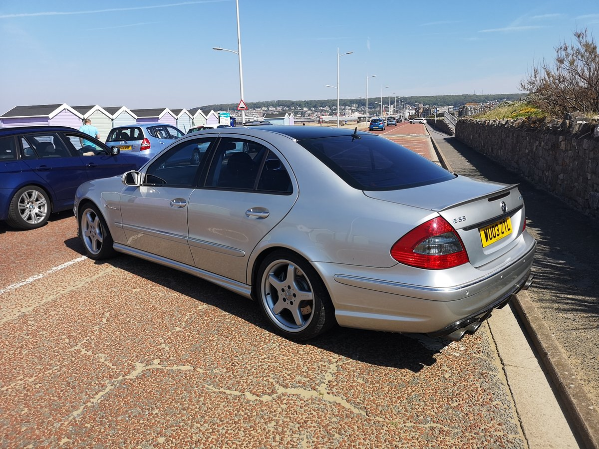 2003 Mercedes E55 supercharged Modified stage 2 tuned For Sale (picture 4 of 6)