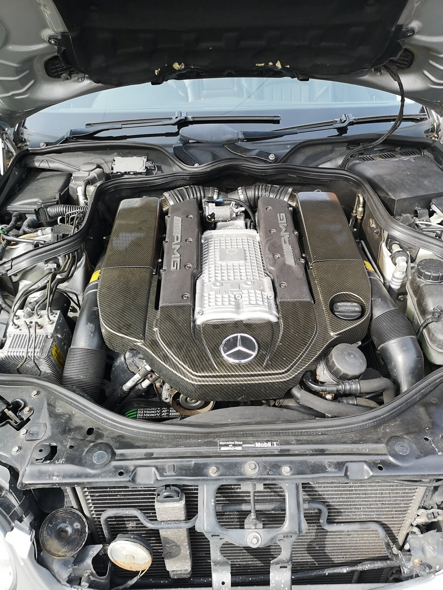 2003 Mercedes E55 supercharged Modified stage 2 tuned For Sale (picture 6 of 6)