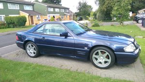 1997 SL320 Rare AMG kit. Amazing history. Drives great. For Sale