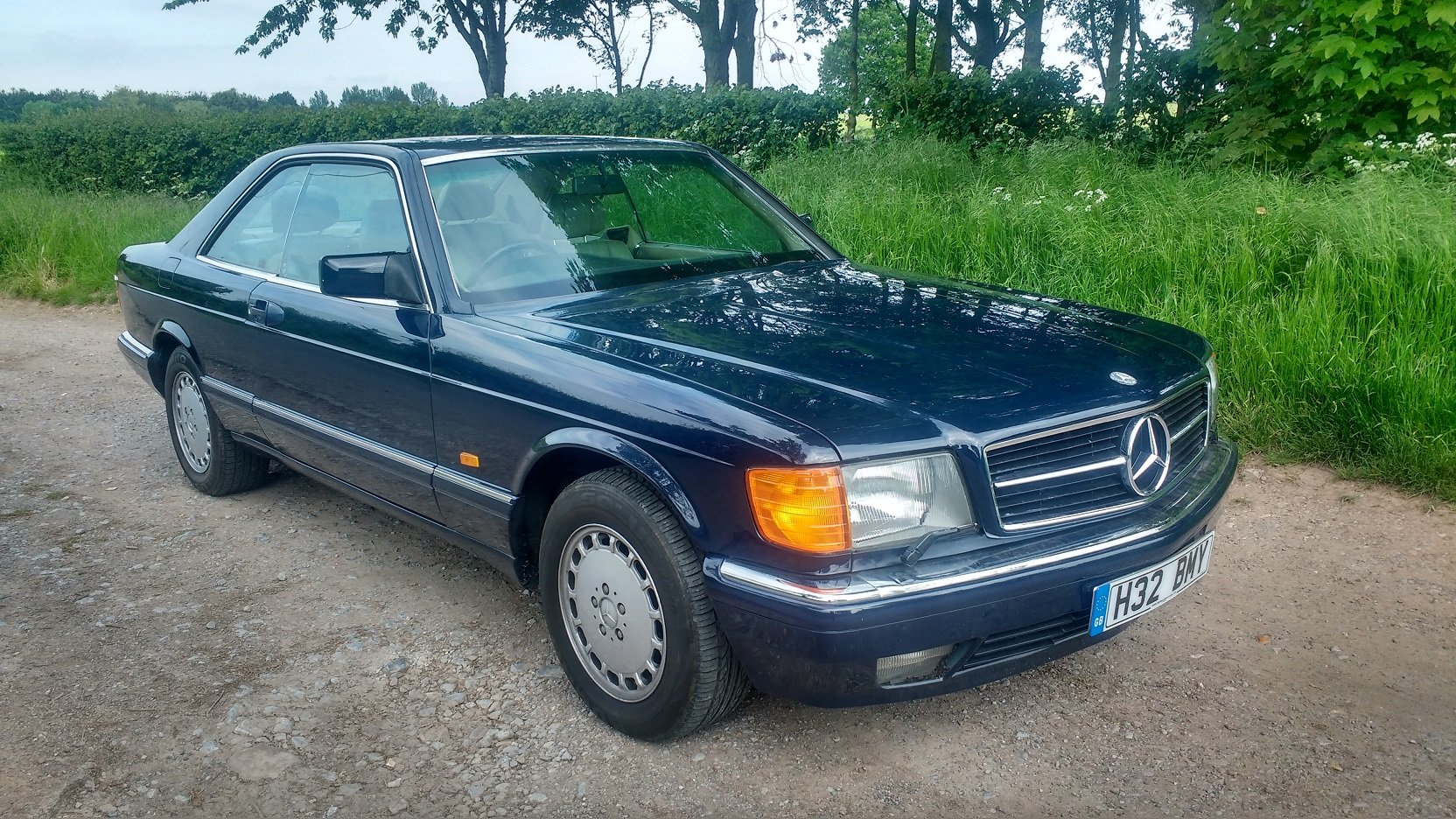 Mercedes 420SEC 1992 207k FSH For Sale (picture 1 of 6)