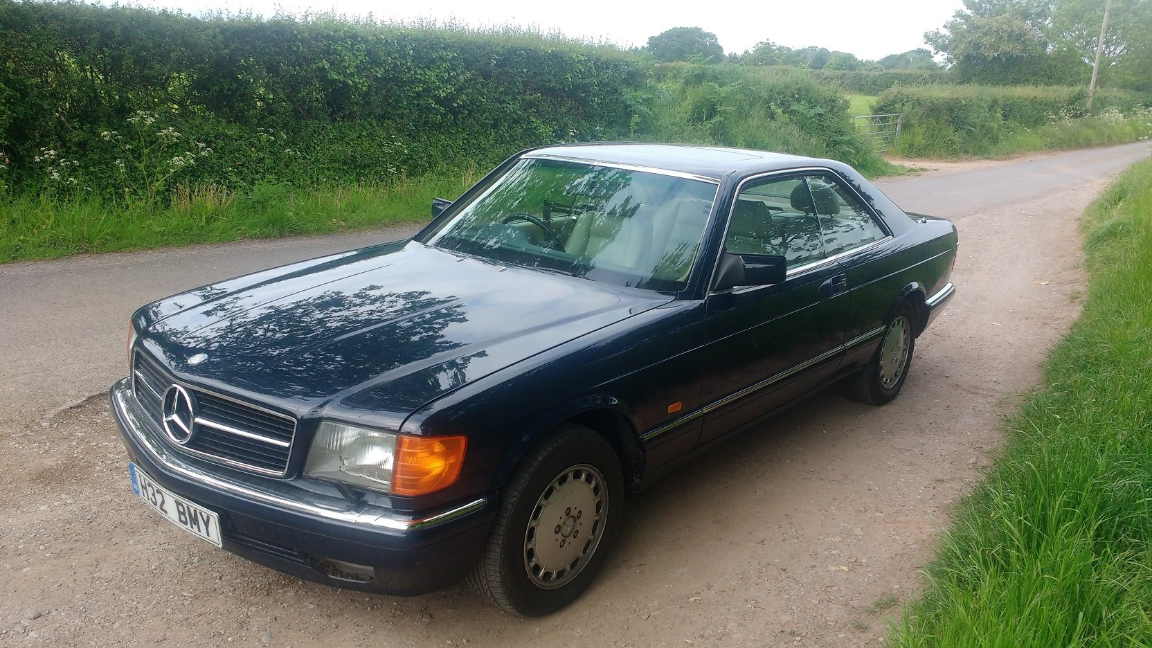 Mercedes 420SEC 1992 207k FSH For Sale (picture 2 of 6)