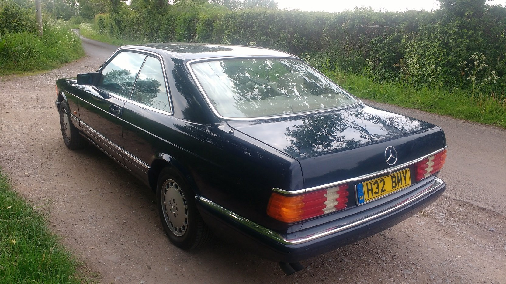Mercedes 420SEC 1992 207k FSH For Sale (picture 3 of 6)