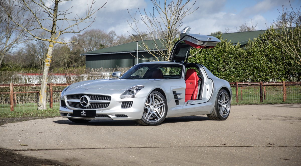 2011 Mercedes Benz SLS AMG Coupe For Sale (picture 1 of 6)