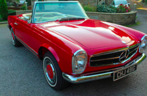 1969 280SL TOTAL NUT & BOLT RESTORATION RHD AND RARE MANUAL CAR For Sale