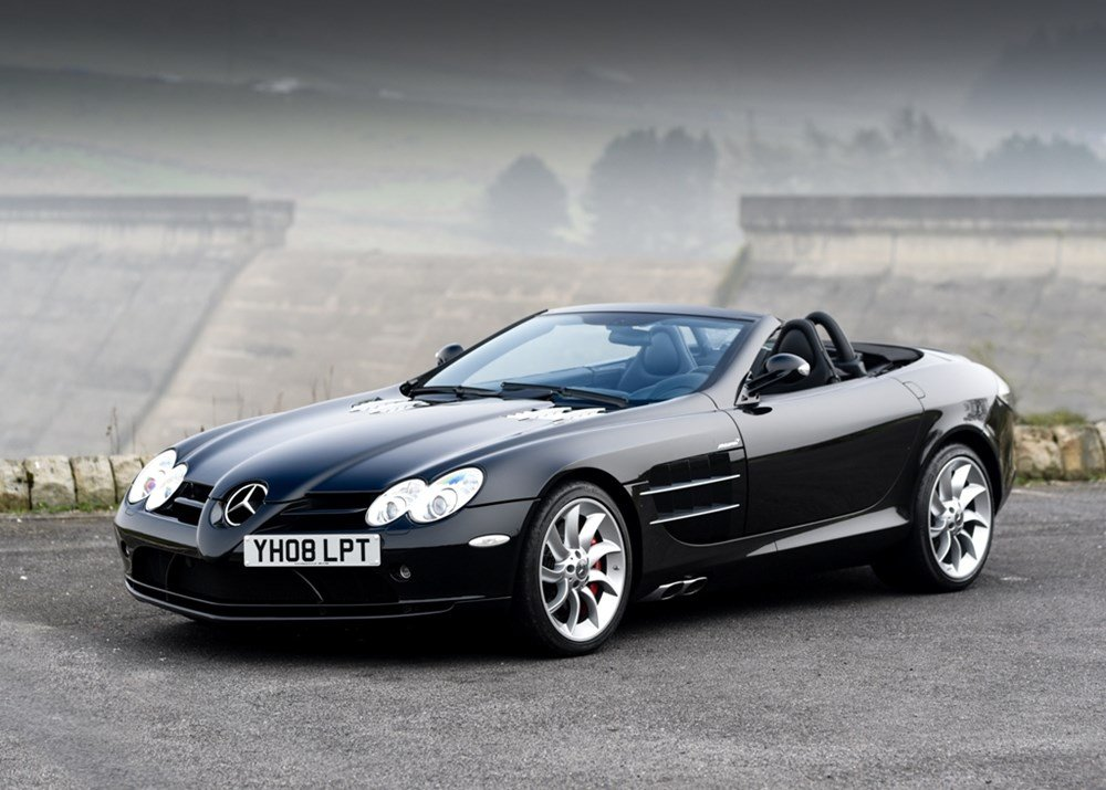 2008 Mercedes-Benz SLR McLaren Roadster SOLD (picture 1 of 6)