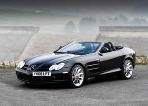 2008 Mercedes-Benz SLR McLaren Roadster SOLD