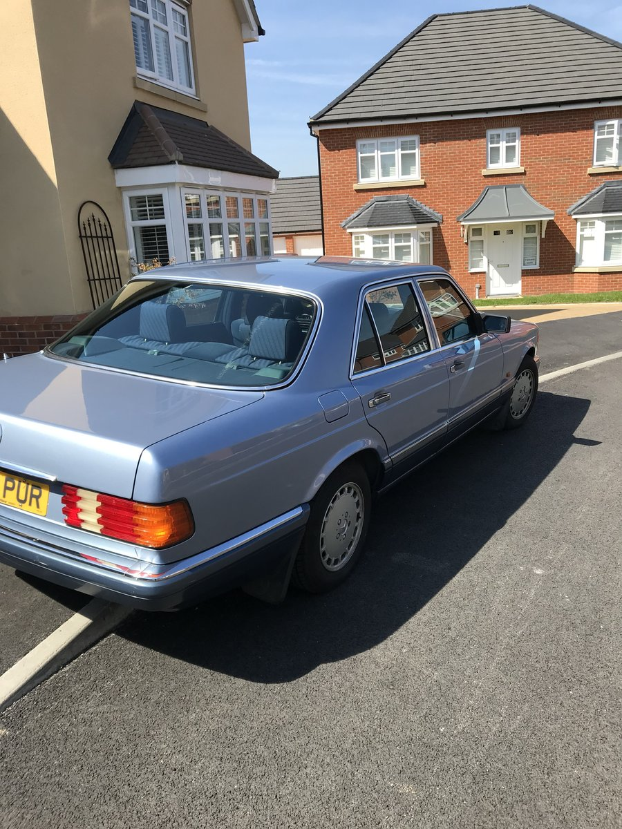 Mercedes W 126 300SE 1992 SOLD (picture 3 of 6)