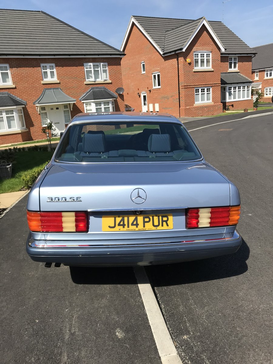 Mercedes W 126 300SE 1992 SOLD (picture 4 of 6)