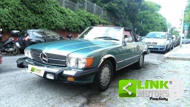 1988 Mercedes Classe SL 560, Versione Stati Uniti, Cambio automa For Sale (picture 1 of 6)
