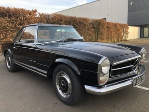 1965 Mercedes Benz 230SL Pagoda 4 speed manual