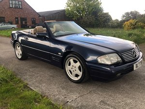 1996 Beautiful Mercedes SL320 Cabriolet For Sale