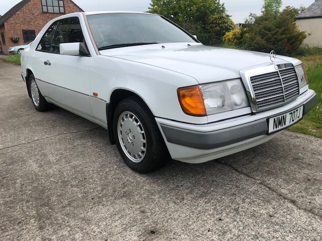 1990 Beautiful Mercedes W124 E230 Coupe Manual For Sale (picture 1 of 6)