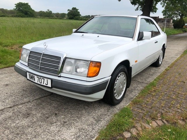 1990 Beautiful Mercedes W124 E230 Coupe 5 Speed Man For Sale (picture 2 of 6)