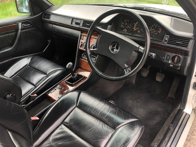 1990 Beautiful Mercedes W124 E230 Coupe Manual For Sale (picture 5 of 6)