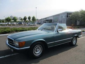 1984 Mercedes 380 SL Auto at Morris Leslie Auction 25th May For Sale by Auction