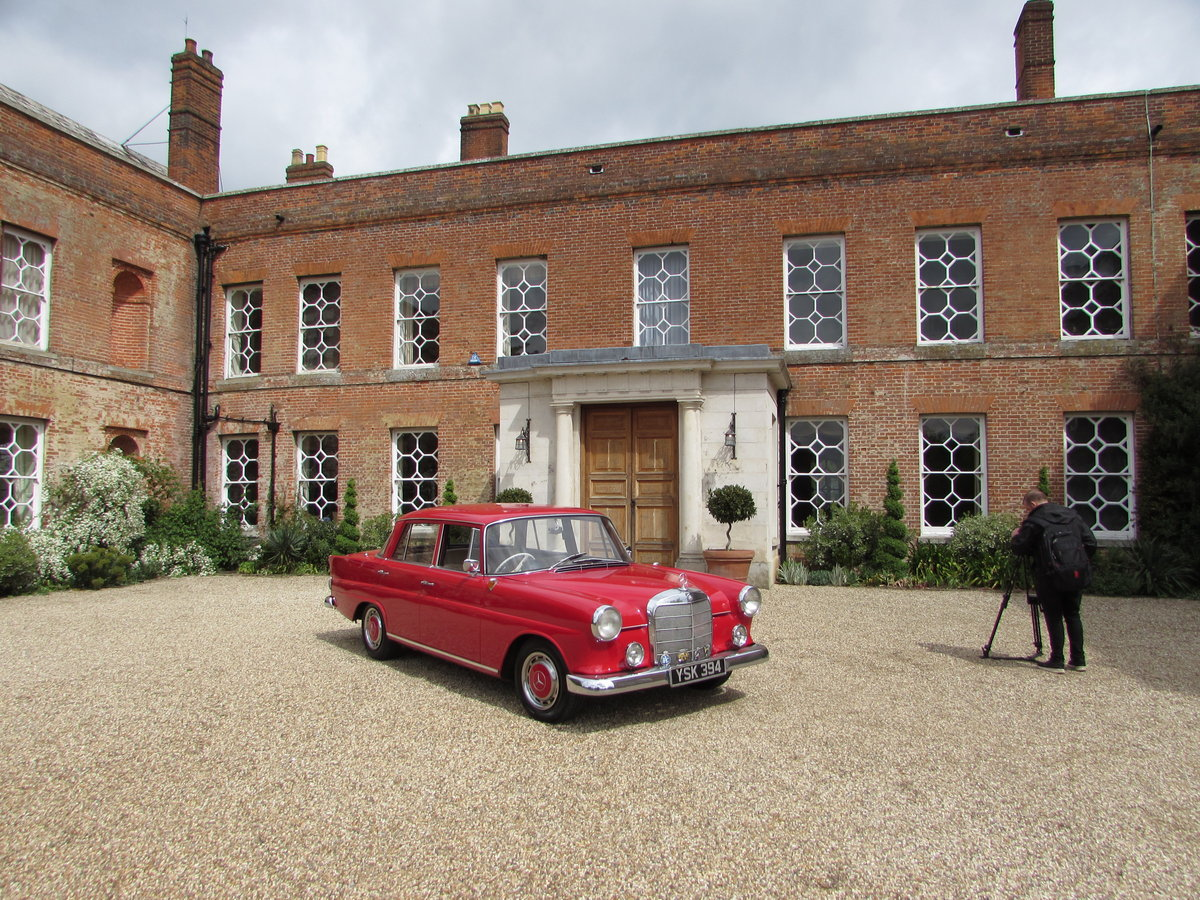 mercedes 190c fintail (1963) For Sale (picture 1 of 4)