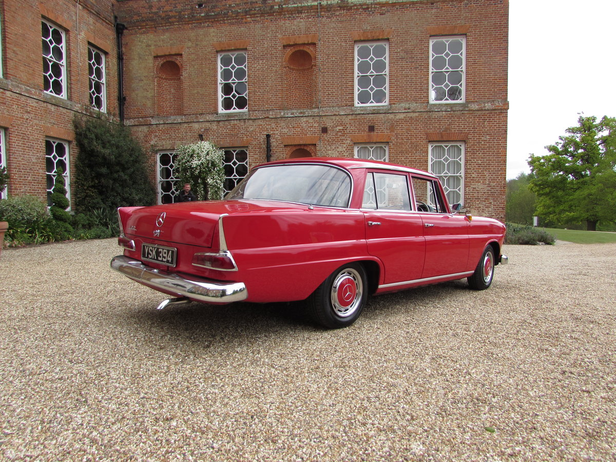 mercedes 190c fintail (1963) For Sale (picture 2 of 4)
