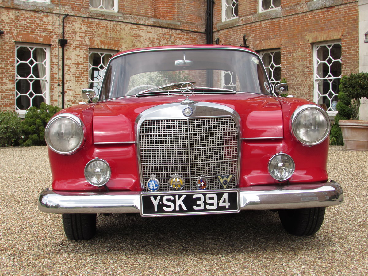 mercedes 190c fintail (1963) For Sale (picture 3 of 4)