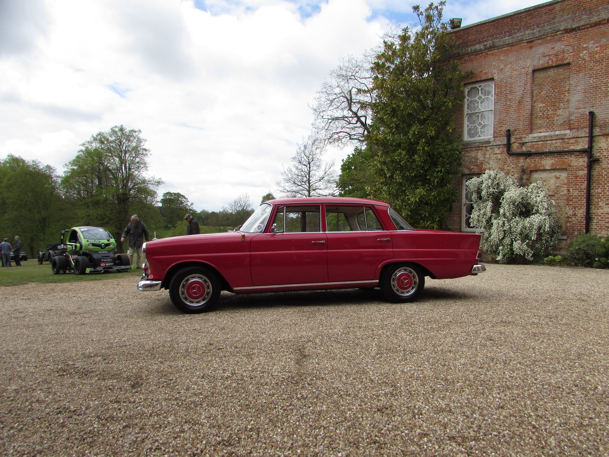 mercedes 190c fintail (1963) For Sale (picture 4 of 4)