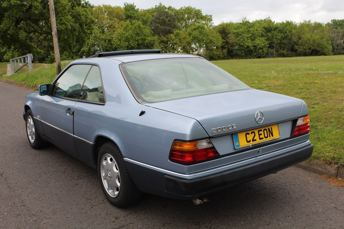 Mercedes 300 CE Auto 1992 - to be auctioned 26-07-19 For Sale by Auction (picture 2 of 6)