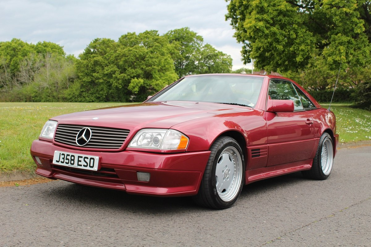 Mercedes SL500 AMG 1992 - To be auctioned 26-07-2019 For Sale by Auction (picture 1 of 6)